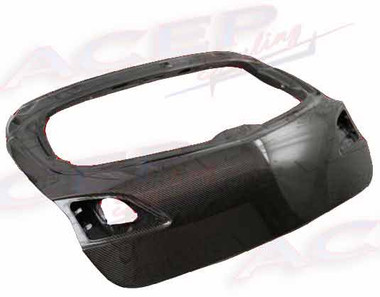 Mazda 3 Hb Oem Style Carbon Fiber Hatch Trunk
