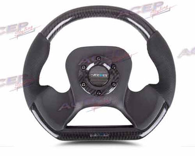 NRG CARBON FIBER STEERING WHEEL 320mm CARBON FIBER CENTER PLATE