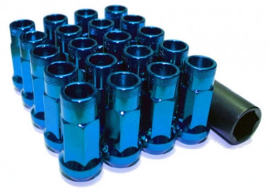 Muteki SR48 Open End Lug Nuts - Blue
