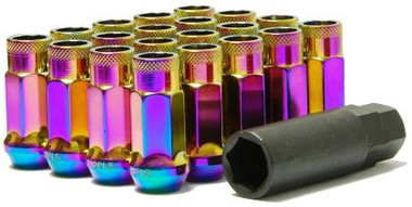 NEO Chrome lug nuts 12x1.50 48mm