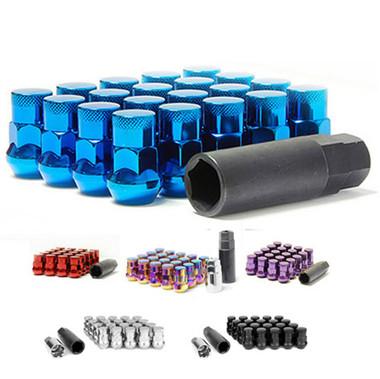 Closed End Lug Nuts - Blue 12x1.25