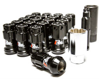 Black R40 Lug Nuts