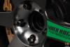project kics r40 black chrome lug nuts