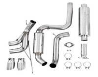 """MBRP"" Cat Back Dual Center Outlet Exhaust"