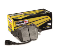 Performance Ceramic Brake Pads; w/ Upper Notch And Spring