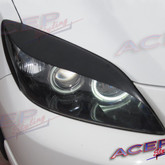 2004 - 2009 mazda mazda3 MS3 eyelids for the headlight primed Aggressor eyelids