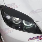 2004 - 2009 mazda mazda3 MS3 eyelids for the headlight primed Aggressor eyelids