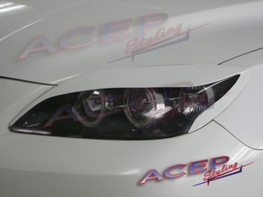 DEMON eyelids headlight covers fit 04-09 Mazda3 & Mazdaspeed3 (HB)