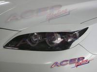 DEMON eyelids headlight covers fit 04-09 Mazda3 & Mazdaspeed3 (HB)
