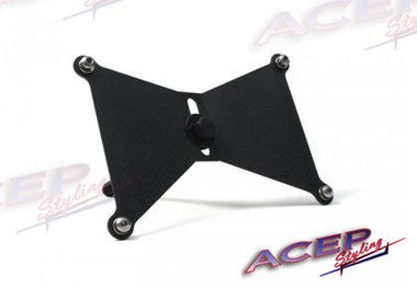 Perrin License Plate Holder relocation kit sold by ACEPSTYLING