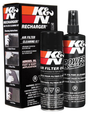 K&N Air Filter Cleaning Spray 6.5oz Aerosol & 12oz bottle