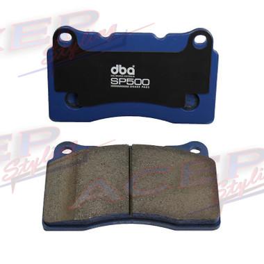 DBA SP500 Street performance Brake pads fits Subaru STI, Cadillac CTS , camaro, hyundai genesis coupe