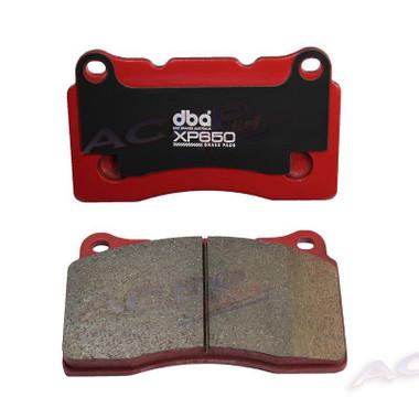 DBA XP650 Street performance Brake pads fits Subaru STI