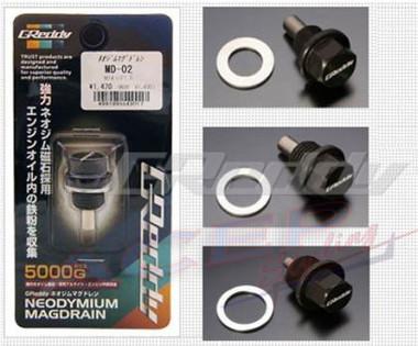 GReddy 13+ Scion FR-S BRZ Magnetic Drain Plug