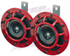 HELLA Red Super Tone Dual Horn for car