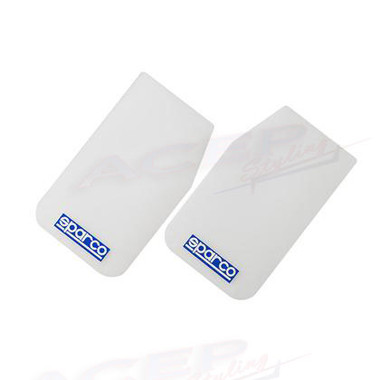 SPARCO Competition Mud Flap armor Pair