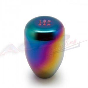 BLOX Racing Limited Series 5-Speed Billet Shift Knob - NEO Chrome 10x1.5mm