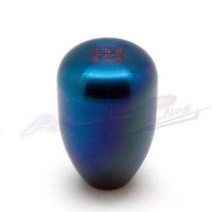 BLOX Racing 6-Speed Billet Shift Knob - blue 10x1.5mm