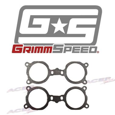 GrimmSpeed 02-10+ WRX/STi/LGT Enlarged Bore Intake Manifold to Tumbler Gasket Pair