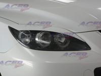 "ACEP ""Venom"" eyelids headlight cover fit 04-09 Mazdaspeed3 Mazda3 (HB)"