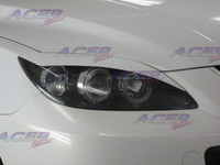 """Venom"" eyelids headlight cover fit 04-09 Mazdaspeed3 Mazda3 (HB)"
