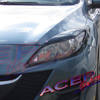 car atom headlights eyelids 2012