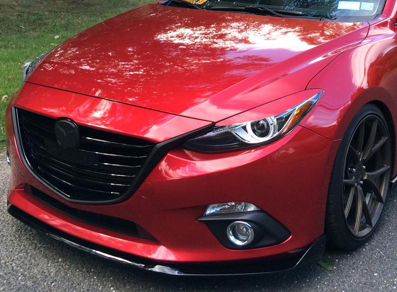 Buy Meroki ZR5 Headlight Eyelids for Mazda 3 and Sedan online2015 Mazda 3 White Paint Scrape Repair