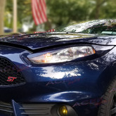 "2014-2018 fiesta headlight Armor ""Invader"" eyelids"