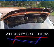"ACEP ""Skylark"" spoiler/wing extension fits 07-09 Mazdaspeed & 04-09 Mazda3 Hatch"