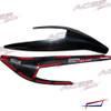 STANKY STYLE headlight Armor eyelid fits 14-18 Ford Fiesta