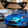 Acepstyling NEUROTOXIN armor on Mazdaspeed3 blue painted grill