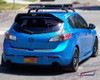 2010 2011 2012 2013 Mazdaspeed3 Leviathan wing spoiler extension