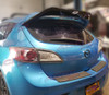10-13 Mazdaspeed3 Leviathan wing spoiler extension