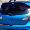 2010 2011 2012 2013 Mazdaspeed 3 Leviathan wing spoiler extension