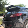 acepstyling Mazdaspeed3 Leviathan wing spoiler extension