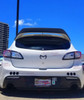 Acep 10-13 Mazdaspeed3 Leviathan wing spoiler extension