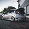 ACEP Fiesta ST Covid wing spoiler extension
