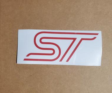 ST decal logo sticker