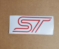 ST decal logo sticker