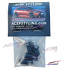 Acepstyling Rubber Rivet nuts spoiler extension hardware