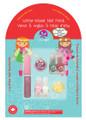 Suncoat Lip Gloss Nail Sparkle Kit - Natural and Non-Toxic