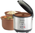 Vitaclay 2-in-1 Rice N' Slow Cooker - 3.2 Quart Capacity