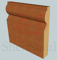 Torus Oak Skirting Board - 3m lengths