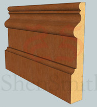 2059 Oak Skirting Board - 3m Lengths