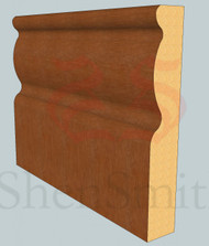 2107 Oak Skirting Board - 3m Lengths
