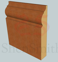324 Oak Skirting Board - 3m Lengths