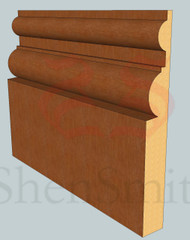 Belmoral Oak Skirting Board - 3m Lengths