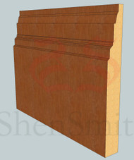 Castle Oak Skirting Board - 3m Lengths