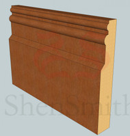 Colonial Oak Skirting Board - 3m Lengths