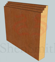 Mini-Steps Oak Skirting Board - 3m Lengths